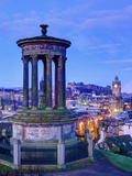 UK  Scotland  Edinburgh  Calton Hill  Stewart Monument