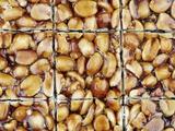 A Homemade Peanut and Caramel Bar Papier Photo par Neil Overy