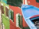 Reflections in Burano  Veneto Region  Italy
