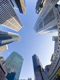 Singapore, Cbd, Financial Centre Office Buildings Papier Photo par Gavin Hellier