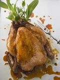 Roast Chicken with Fresh Herbs