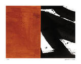 Zen Red Giclée par Maria Lobo