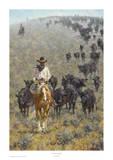 The Point Rider Reproduction d'art par Jim Rey