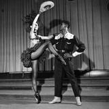 Arthur Mitchell  Tanaquil LeClercq - 1955