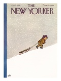 The New Yorker Cover - January 7  1956