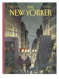 The New Yorker Cover - March 8  1993