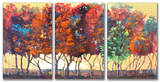 Enchanted Forest Triptych Art