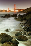 Baker Beach and the Golden Gate Bridge