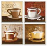 Espresso  Coffee  Latte  Cappuccino Set