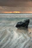 Sunset Rock Seascape