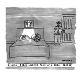 GILLIAN  BARRY  AND THE PRICE OF A SMALL BRAQUE - New Yorker Cartoon