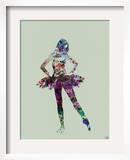 Ballerina Watercolor