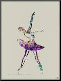 Ballerina Watercolor 4