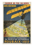 Early French Air Show Poster