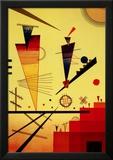 Structure joyeuse Reproduction encadrée par Wassily Kandinsky