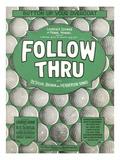 Playbill for Golf Musical