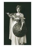 Wagnerian Warrior Heroine
