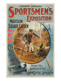 Poster for Sportmen's Exposition  1896