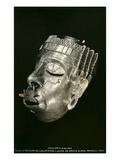 Prehispanic Gold Mask  Oaxaca  Mexico