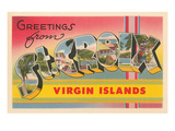 Greetings from St Croix  Virgin Islands