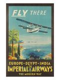 Biplane Clipper  Imperial Airways