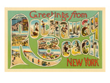 Greetings from Rockaway Beach  New York
