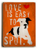 Love is easy to spot