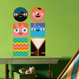 You-Things Totem Collection 3 Wall Decal