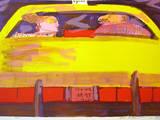 N Y Taxi - Rosa Ausgabe