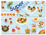 Super Snacks Educational Laminated Posters