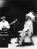 Recording of Indian Voices with a Phonograph