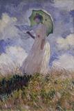 Femme à l'Ombrelle Tournée Vers la Gauche (Woman with Umbrella)  1886