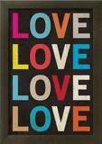 Love (Colorful) Art Poster Print