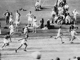 Running in the 1932 Olympics in Los Angeles
