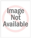 Boxer Dog Wearing Captian Hat Giclée premium par Pop Ink - CSA Images