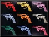 Gun, c.1982 Reproduction montée par Andy Warhol