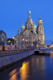 The Church on Spilled Blood  UNESCO Site  on Kanal Griboedova  St Petersburg  Russia