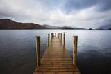 Landing Stage on Derwentwater  Lake District National Park  Cumbria  England  United Kingdom