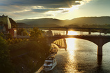 Market Street Bridge  Chattanooga  Tennessee  United States of America  North America