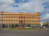 The Infamous Former Headquarters of the Kgb on Lubyanka Square  Moscow  Russia  Europe