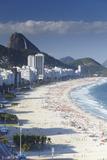 View of Copacabana Beach  Rio de Janeiro  Brazil  South America