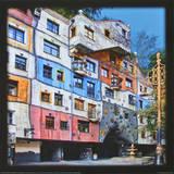 Hundertwasser-House  Vienna