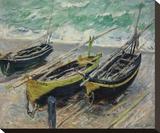 Three Fishing Boats  1886