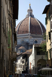The Duomo Seen Through a Side Street in Florence  Italy