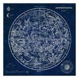 Celestial Blueprint Giclée premium par Sue Schlabach