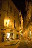 The Back Streets of the Old Town with Saint Anne's Church Steeple