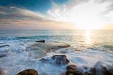 Laguna Beach Shore Break and Waves Papier Photo par Ben Horton