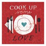 Cook Up Love Giclée premium par Michael Mullan