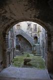 A Small Courtyard in the Hilltop Village of Santo Stefano Di Sessanio