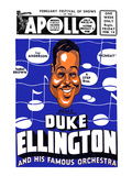 Apollo Theatre Newspaper Ad: Duke Ellington and Orchestra  Isabel Brown  Ivy Anderson and More